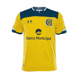 20/21 Rosario Central Away Yellow Soccer Jerseys Shirt