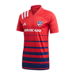 2020 FC Dallas Home Red Soccer Jerseys Shirt