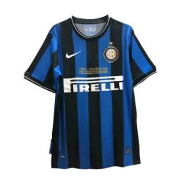 09/10 Inter Milan Home Black&Blue Retro Jerseys Shirt