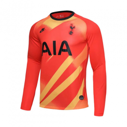 19/20 Tottenham Hotspur Goalkeeper Orange Long Sleeve Jerseys Shirt
