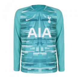 19/20 Tottenham Hotspur Goalkeeper Blue Long Sleeve Jerseys Shirt