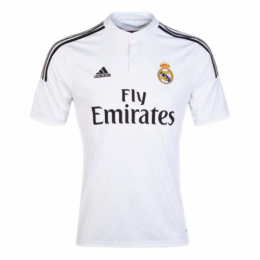 14/15 Real Madrid Home White Retro Jerseys Shirt