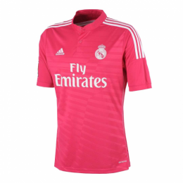 14/15 Real Madrid Away Pink Retro Jerseys Shirt