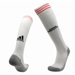 20/21 Real Madrid Home White Soccer Jerseys Socks