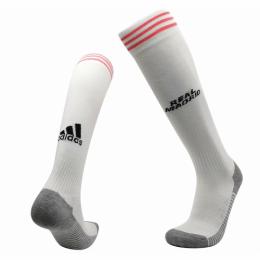 20/21 Real Madrid Home White Soccer Jerseys Socks