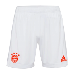 20/21 Bayern Munich Away White Jerseys Short