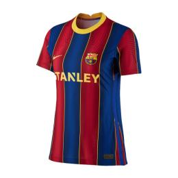 20/21 Barcelona Home Blue&Red Women's Jerseys Shirt