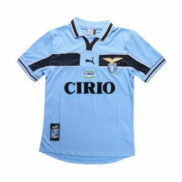 99/00 Lazio Home Blue Retro Soccer Jerseys Shirt