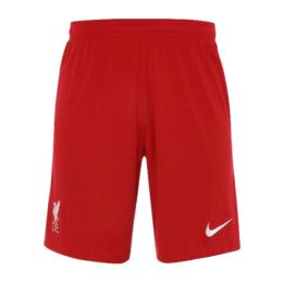 20/21 Liverpool Home Red Soccer Jerseys Short
