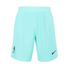 20/21 Liverpool Away Green Soccer Jerseys Short