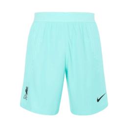 20/21 Liverpool Away Green Soccer Jerseys Short