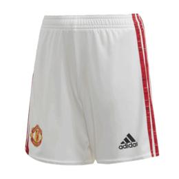 20/21 Manchester United Home White Jerseys Short