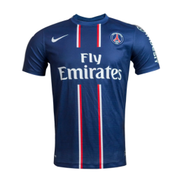 12/13 PSG Away Navy Retro Soccer Jerseys Shirt