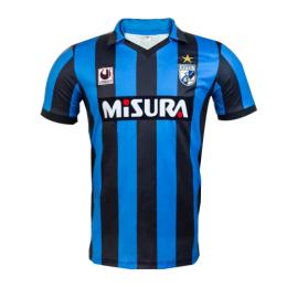 88/90 Inter Milan Home Black&Blue Retro Jerseys Shirt