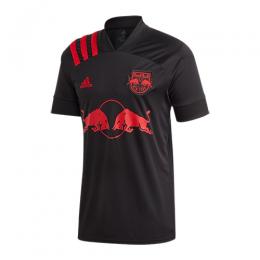 2020 New York Red Bulls Away Black Soccer Jerseys Shirt