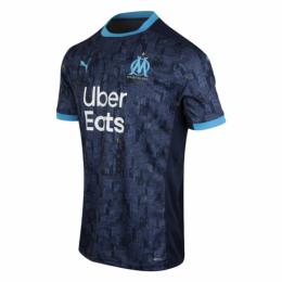 20/21 Marseille Away Navy Jerseys Shirt