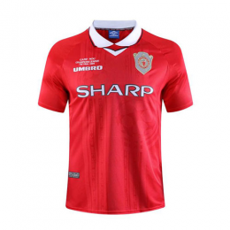 99-00 Manchester United Home Red Retro Jerseys Shirt