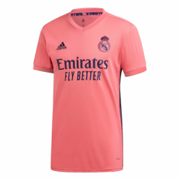 20/21 Real Madrid Away Pink Soccer Jerseys Shirt