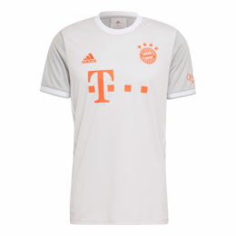 20/21 Bayern Munich Away Gray Jerseys Shirt