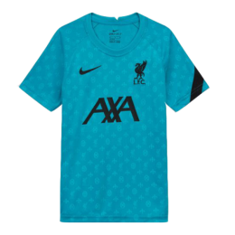 20/21 Liverpool Blue Training Shirt