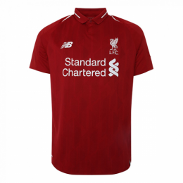 18/19 Liverpool Home Red Retro Soccer Jerseys Shirt