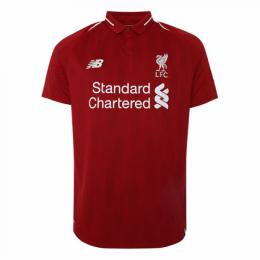 18/19 Liverpool Home Red Retro Soccer Jerseys Shirt