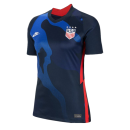 2020 USA Away Four Stars Navy Women's Jerseys Shirt