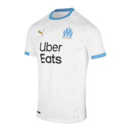 20/21 Marseille Home White Jerseys Shirt(Player Version)