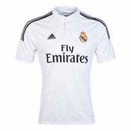 14/15 Real Madrid Home White Retro Jerseys Shirt