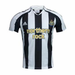 05/06 Newcastle United Home Black&White Retro Soccer Jerseys Shirt