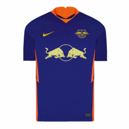 20/21 RB Leipzig Away Blue Soccer Jerseys Shirt