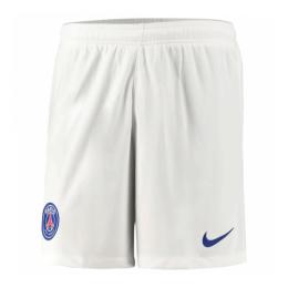 20/21 PSG Away White Soccer Jerseys Short