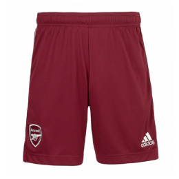 20/21 Arsenal Away Red Soccer Jerseys Short