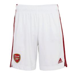 20/21 Arsenal Home White Soccer Jerseys Short