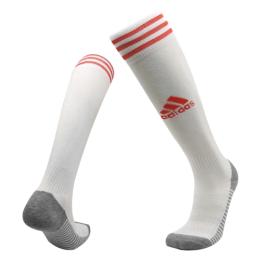 20/21 Ajax Home White Soccer Jerseys Socks
