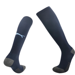 20/21 Marseilles Away Navy Soccer Jerseys Socks