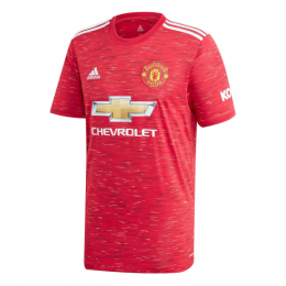 20/21 Manchester United Home Red Jerseys Shirt