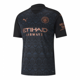20/21 Manchester City Away Black Jerseys Shirt