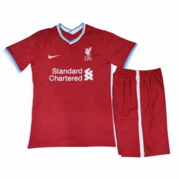 20/21 Liverpool Home Red Children's Jerseys Kit(Shirt+Short)