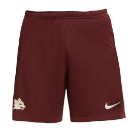 20/21 Roma Away Dark Red Soccer Jerseys Short