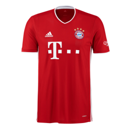 20/21 Bayern Munich Home Red Jerseys Shirt