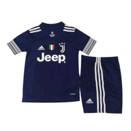 20/21 Juventus Away Navy Children's Jerseys Kit(Shirt+Short)