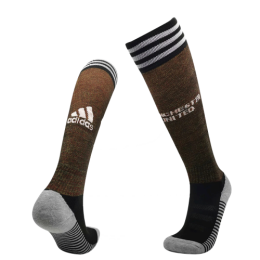 20/21 Manchester United Home Brown Jerseys Socks