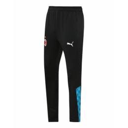20/21 AC Milan Black&Cyan Training Trousers