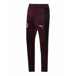 20/21 AC Milan Dark Red Training Trousers