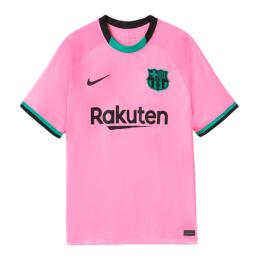 20/21 Barcelona Third Away Pink Soccer Jerseys Shirt