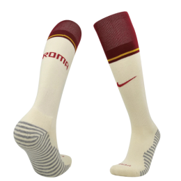 20/21 Roma Away Red&White Soccer Jerseys Socks