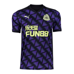 20/21 Newcastle United Third Away Purple Soccer Jerseys Shirt