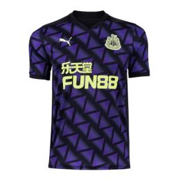 20/21 Newcastle United Third Away Purple Soccer Jerseys Shirt