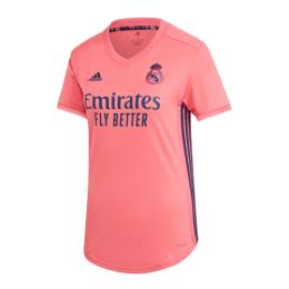 20/21 Real Madrid Away Pink Women's Jerseys Shirt